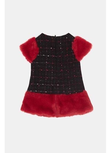 BG Baby Kız Bebek Ekose Elbise 20Fw0Bg2908 Renkli
